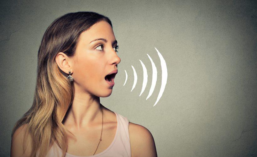 communication, speaking voice